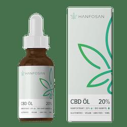 Premium CBD Öl 20% von Hanfosan