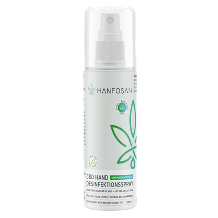 CBD Hand Desinfektionsspray