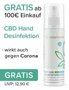 CBD Öl Hand Desinfektionsspray
