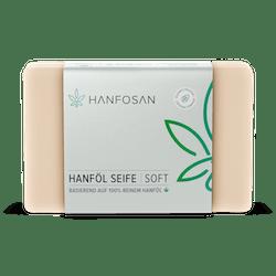 Natürliche Hanföl Seife in reiner Qualität · Hanfosan