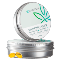 Softgel CBD Kapseln · 10 mg