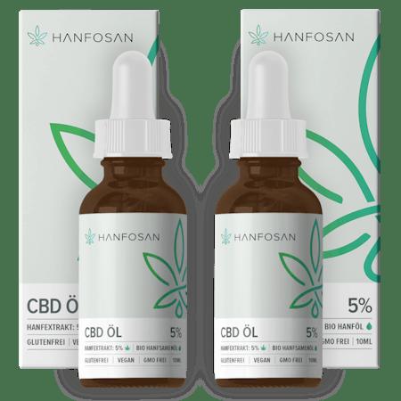 CBD Öl 5 % · 2er Pack