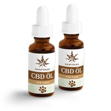 CBD Hanföl für Tiere 3 % · 2er Pack