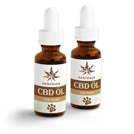CBD Hanföl für Tiere 5 % · 2er Pack