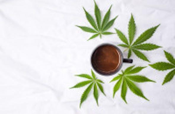 CBD und Kaffee