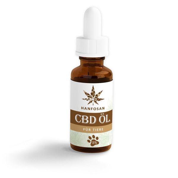CBD Hanföl für Tiere 5 % · 10 ml